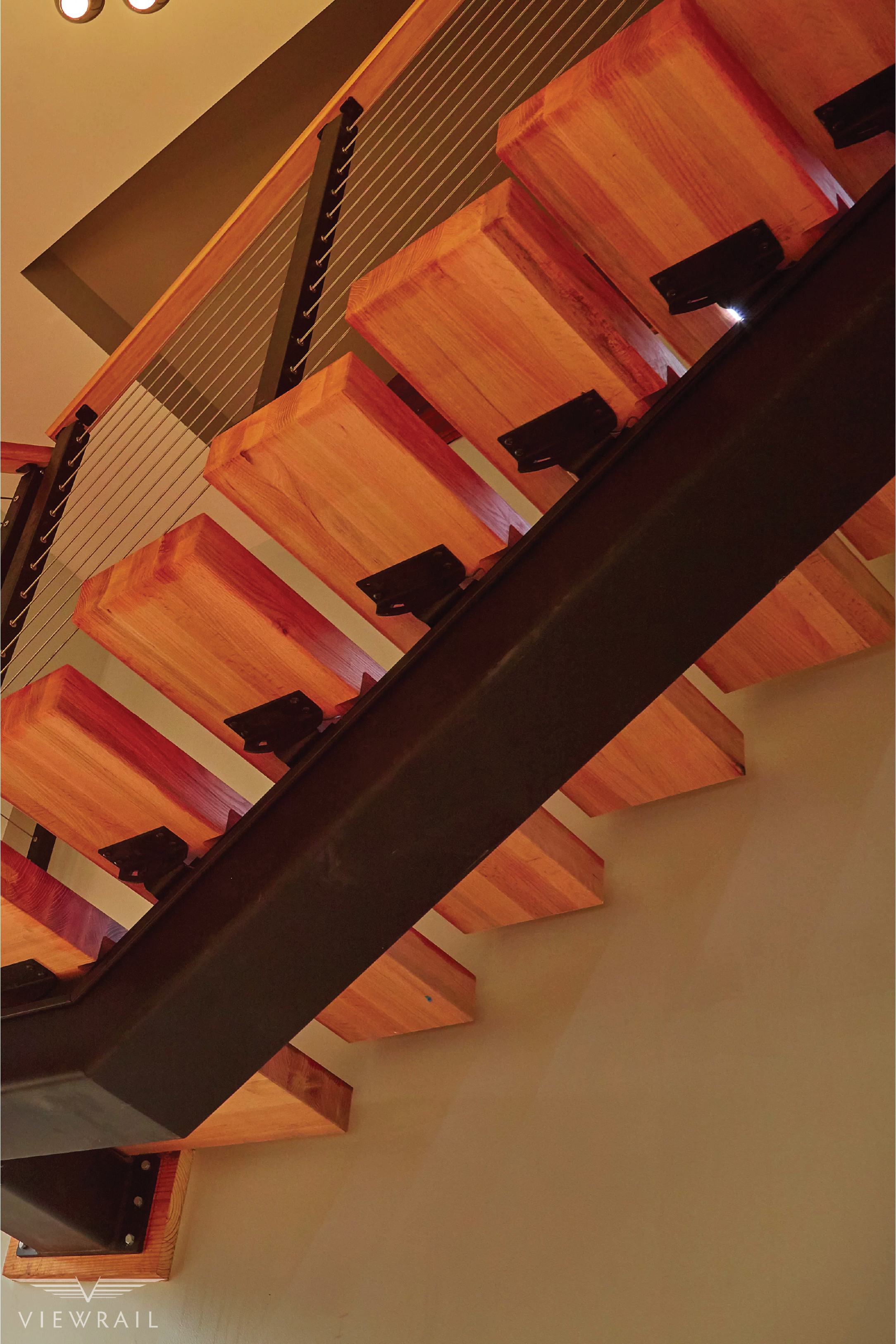 Floating Staircase Tread Brackets Floating Staircase Floating Stairs Stairs