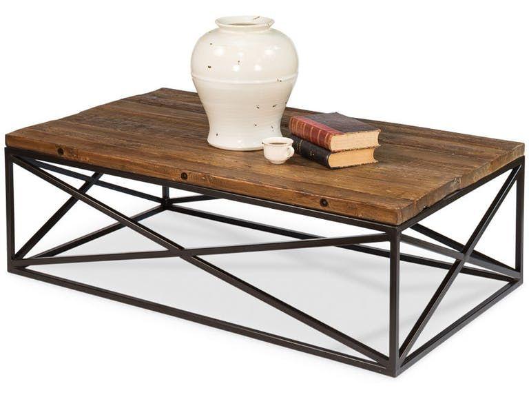 Sarreid Living Room Dockworker Board Coffee Table 30905 Greenbaum Home Furnishings Bellevue Wa