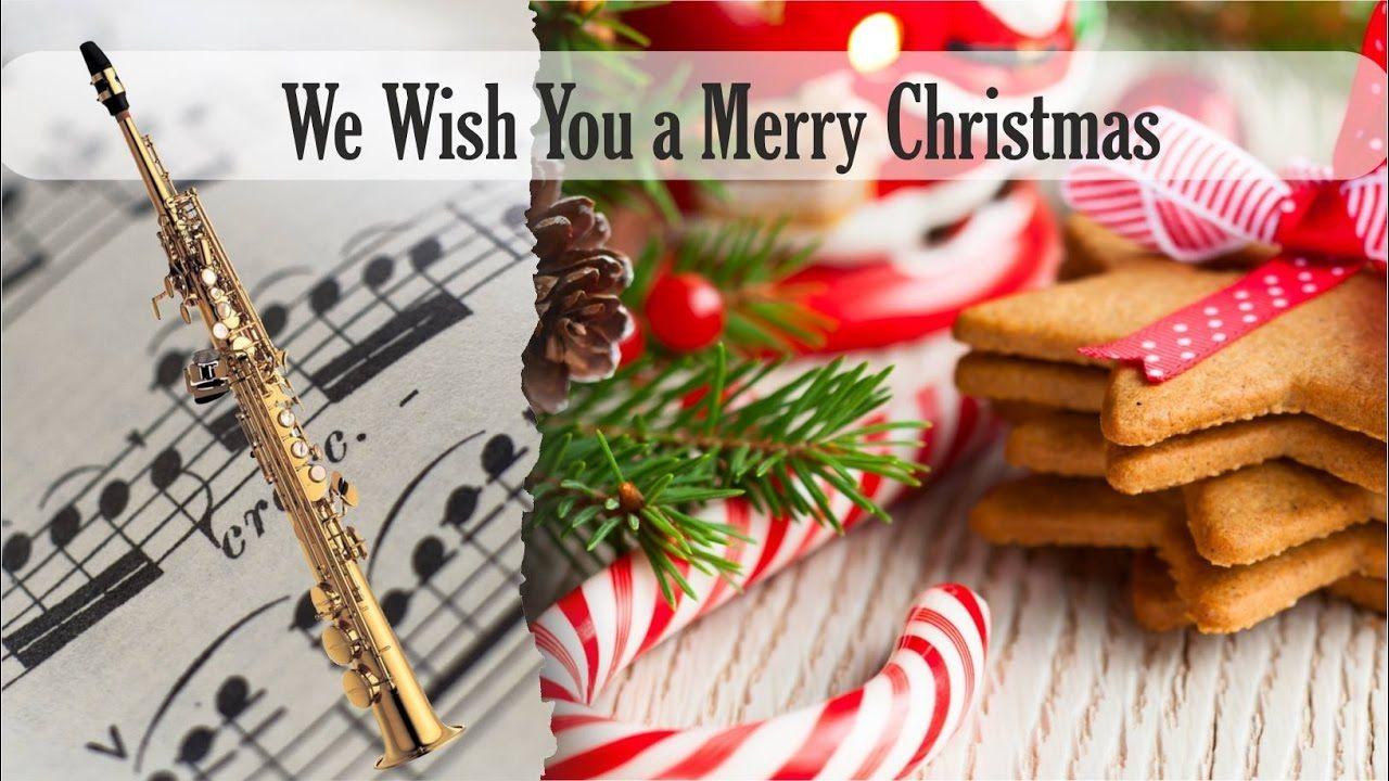 Partitura We Wish You a Merry Christmas Saxofón Soprano