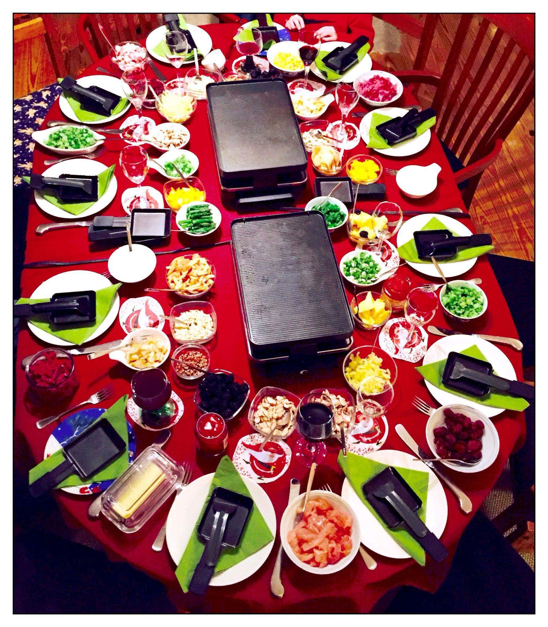 Christmas Dinner #Raclette | Christmas dinner, Dinner, Holiday