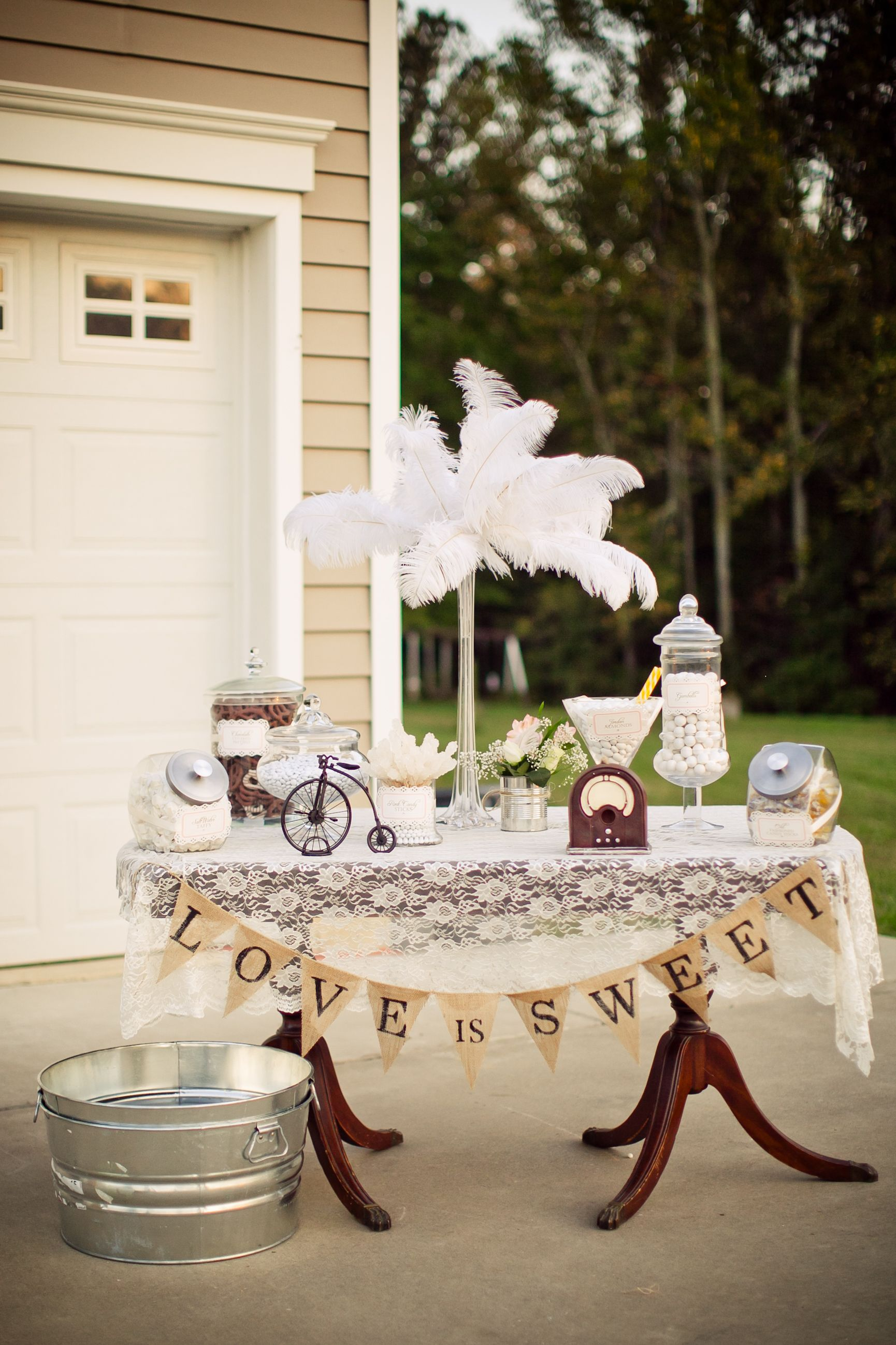 1920's candy |  wedding ideas | diy wedding crafts vintage 1920's