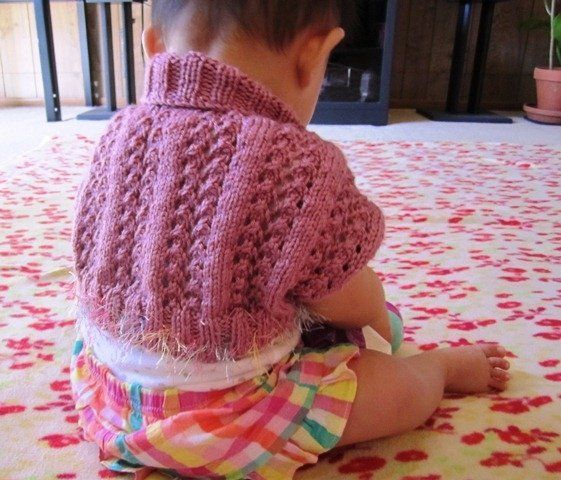 Free Baby Shrug Pattern for Summer! Best Gift You Can Make Quickly ...