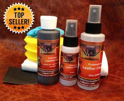 Leather Dye Repair Kit Medium 4oz Leather Repair Leather Dye Diy Leather Restoration