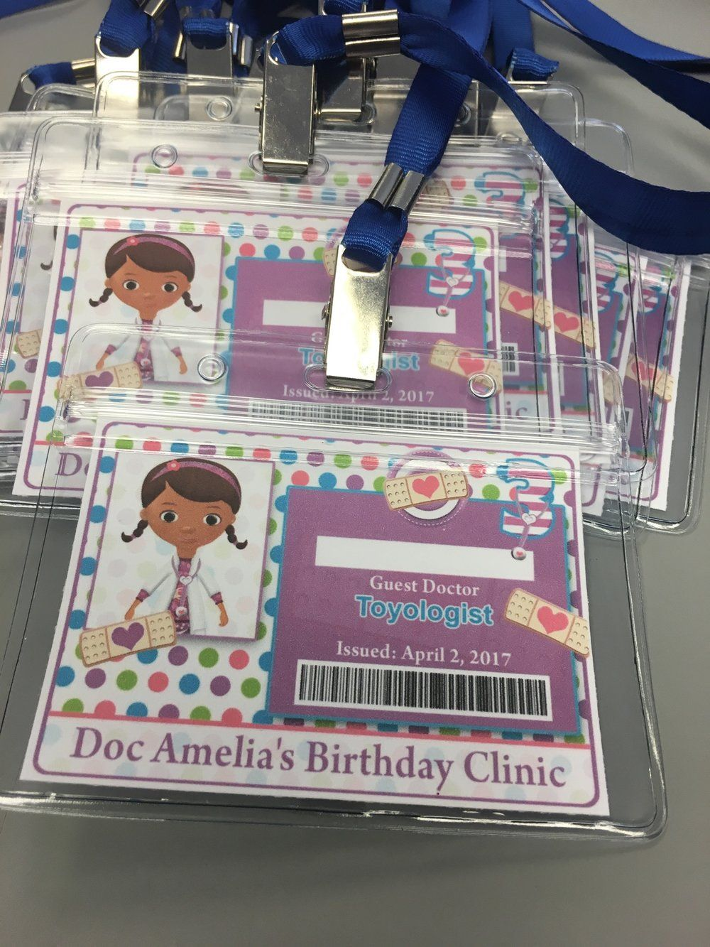Doc mcstuffins bandages doc mcstuffins party ideas on pinterest doc - Doctor Badges For The Kids At The Doc Mcstuffins Birthday Party