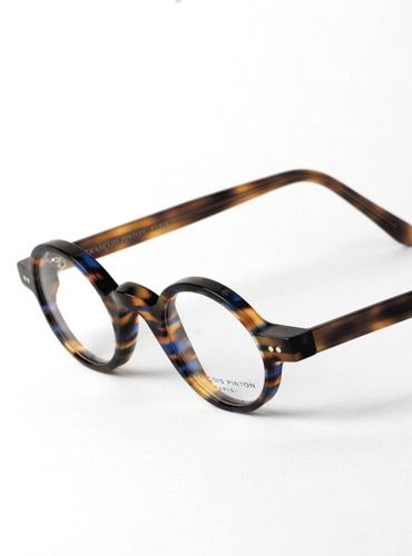 4694ac9ef Francois Pinton Archival Round Frame in Blue Tortoise   Fall Eyewear ...