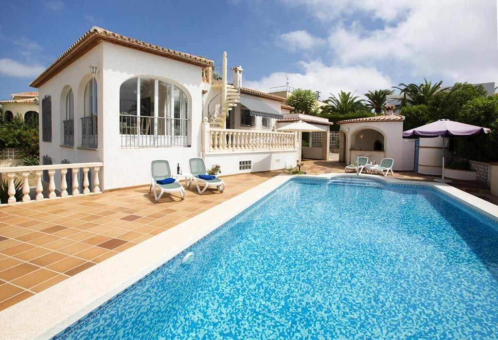 Villa in Javea, on the Costa Blanca, Spain with private pool for 4