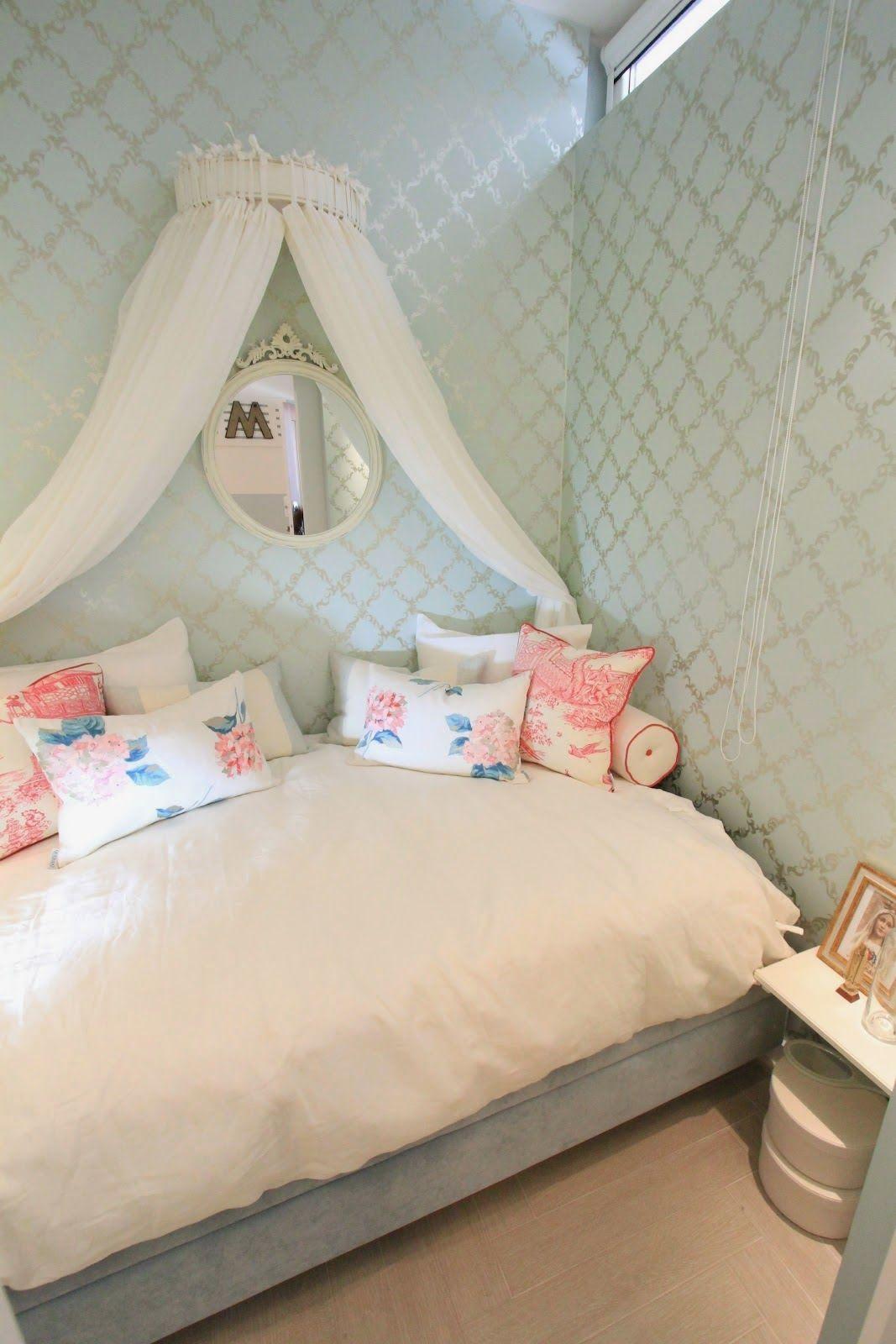A cute girlsu0027 room setup Kid Threeu0027s