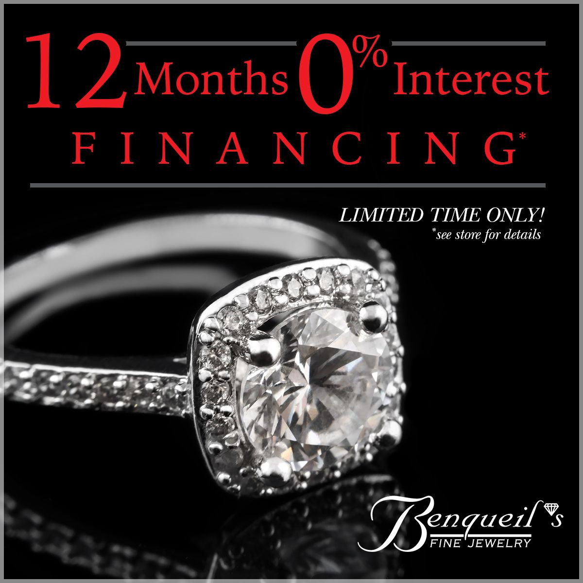 For A Limited Time You Can Enjoy 12 Months 0 Interest Enjoy Your Christmas By Makin Diamond Engagement Rings Diamond Engagement Gold Diamond Engagement Rings