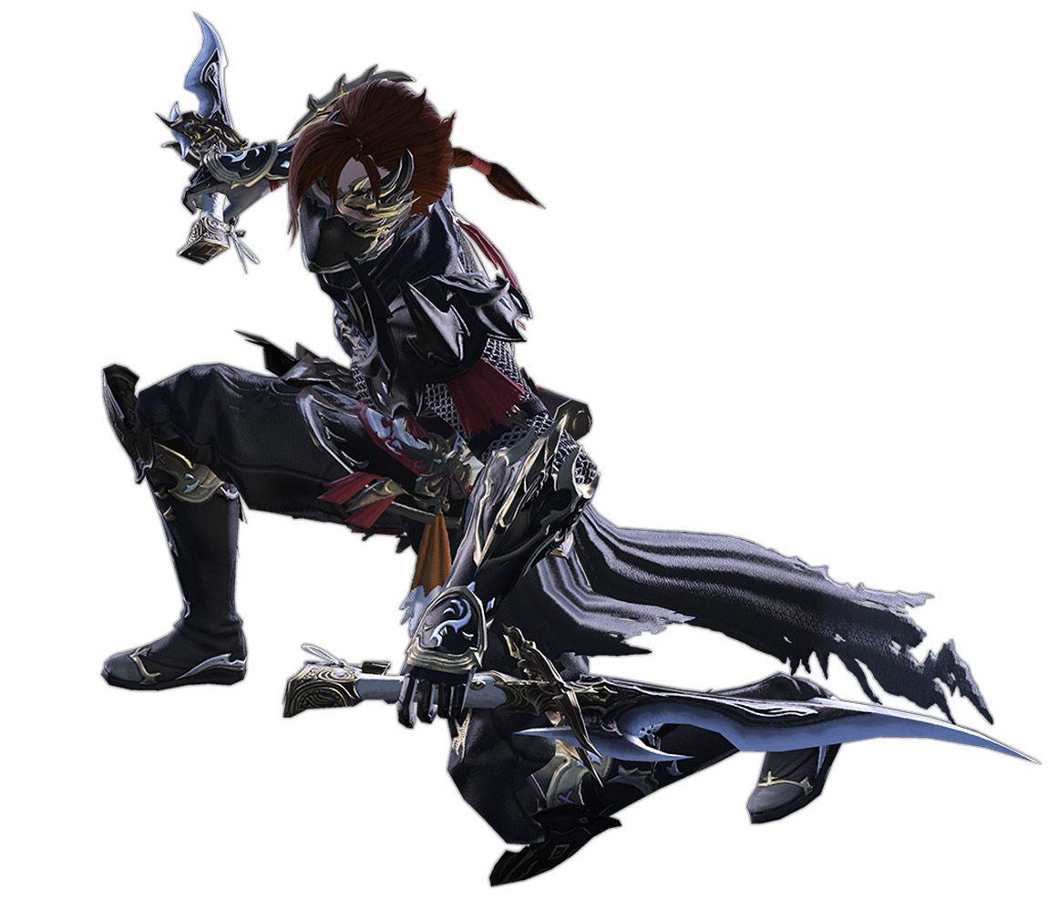 Ninja Render from Final Fantasy XIV: Stormblood | Fantasia