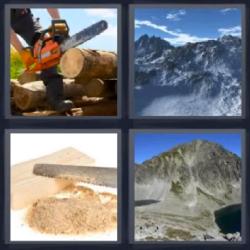 4 Fotos 1 Palabra Montañas Madera 4 Fotos 1 Palabra Fotos Palabras
