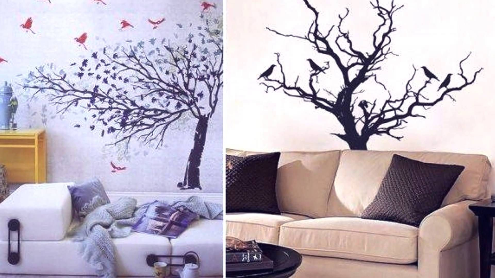 bedroom wall graphic design | Interior wall design, Interior ...