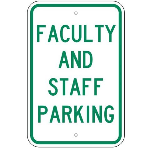 Drop Off Parking Sign Aluminum METAL Sign