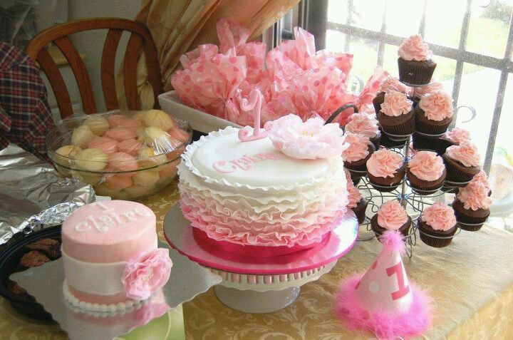 So cute for a girl 1st birthday!
