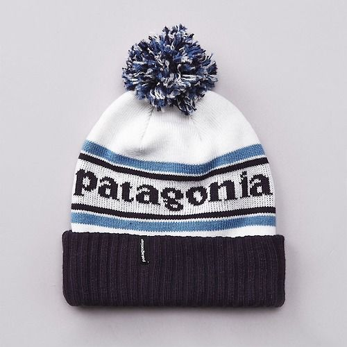 aed717f1624  toque  fashion  blue  white  patagonia Patagonia Beanie