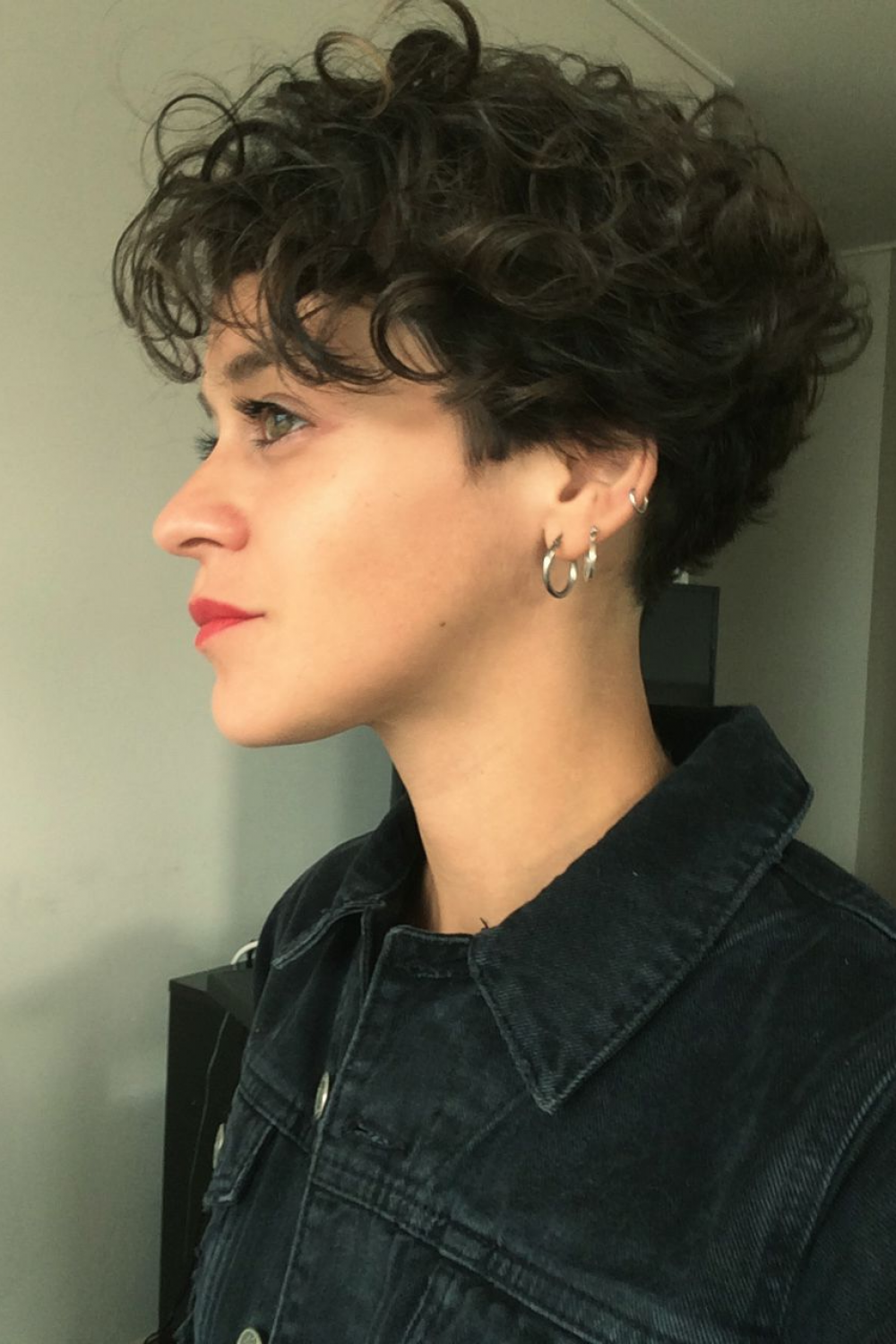 48+ Curly short hairstyles inspirations