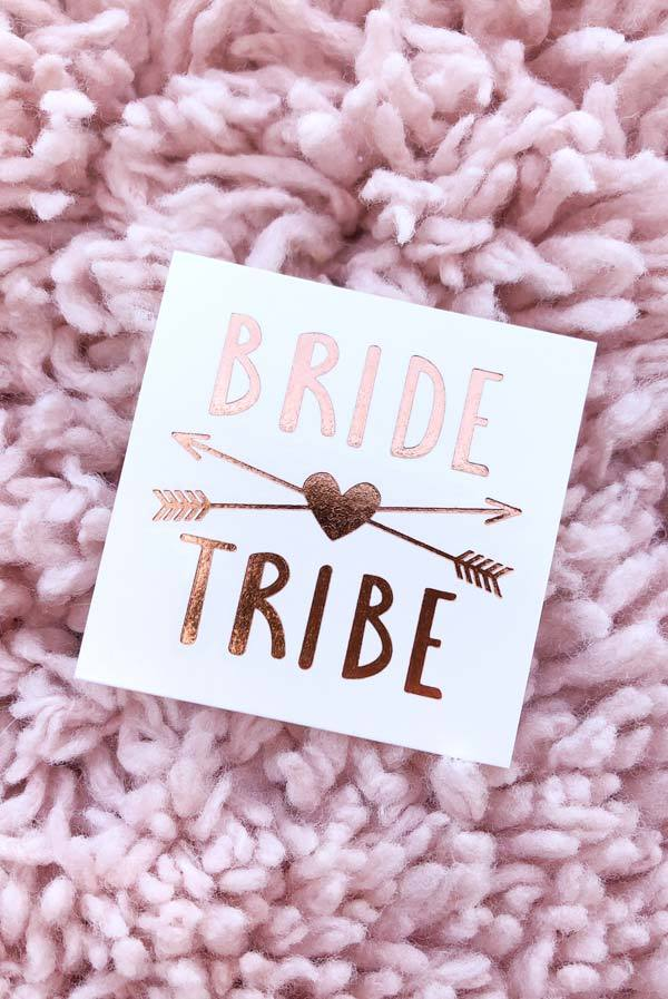 ffba3f4f2 Rose Gold Bachelorette Flash Tattoos in 2019 | Matron oh Honor