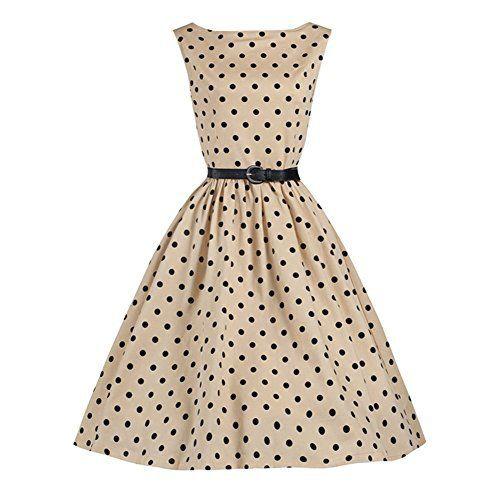 Kleid beige festlich