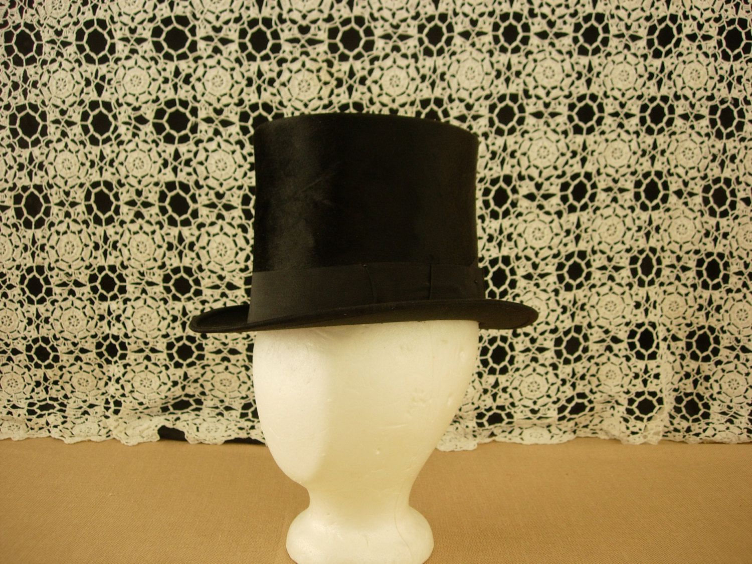 Top Hat Vintage Beaver Skin by AtticFanaticUS on Etsy