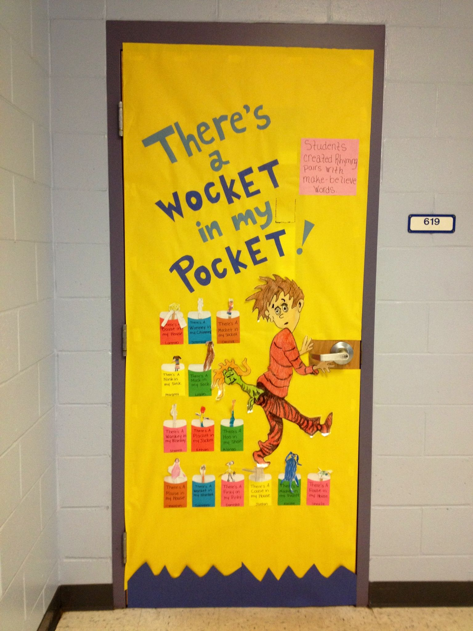 There S A Wocket In My Pocket Our Dr Seuss Door My