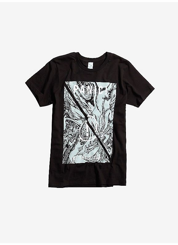86ffd132f Hot Topic : Panic! At The Disco Marbled Symbols Logo T-Shirt ...