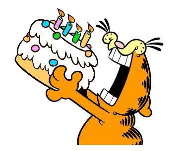 The Pa In Erudition Garfield Birthday Happy Birthday Cat Happy Birthday Meme