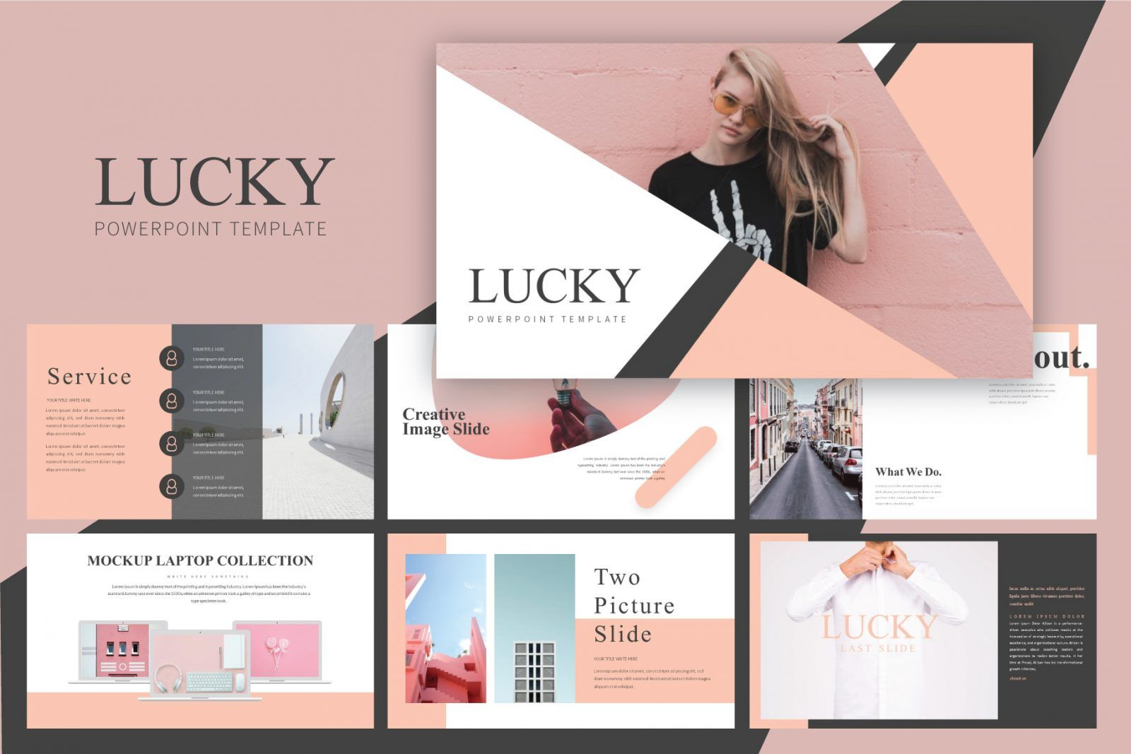 Minimal Powerpoint Template Free Pixelify Best Free Fonts Mockups Templates And Vectors Powerpoint Template Free Powerpoint Templates Powerpoint