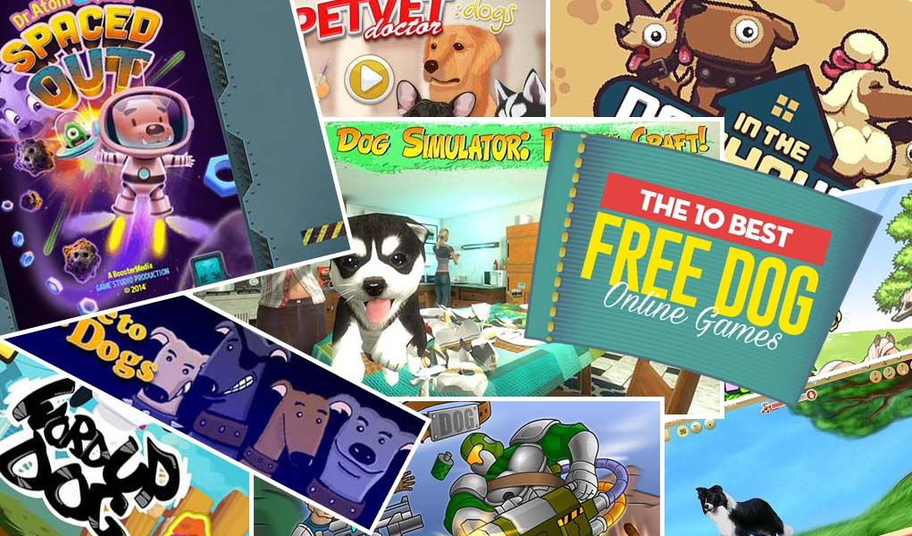 10 Most Addictive Free Online Dog Games Dog games, Dogs