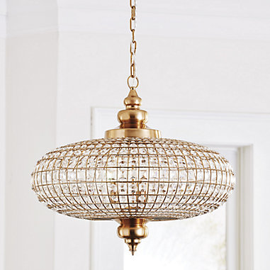 Lucille Crystal Moroccan Chandelier in 2020 | Moroccan