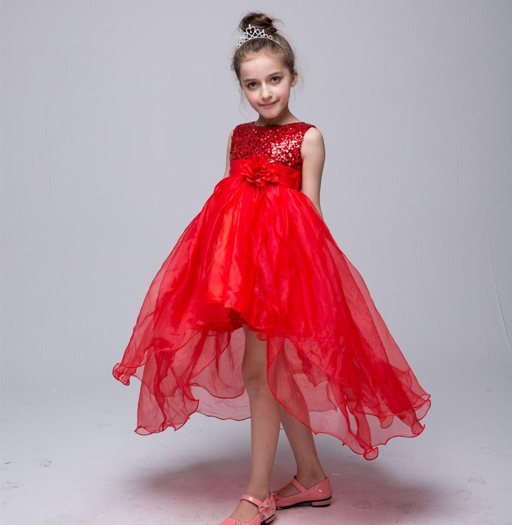 dc51a3878d New summer kids cocktail dress princess girls clothing wedding ...