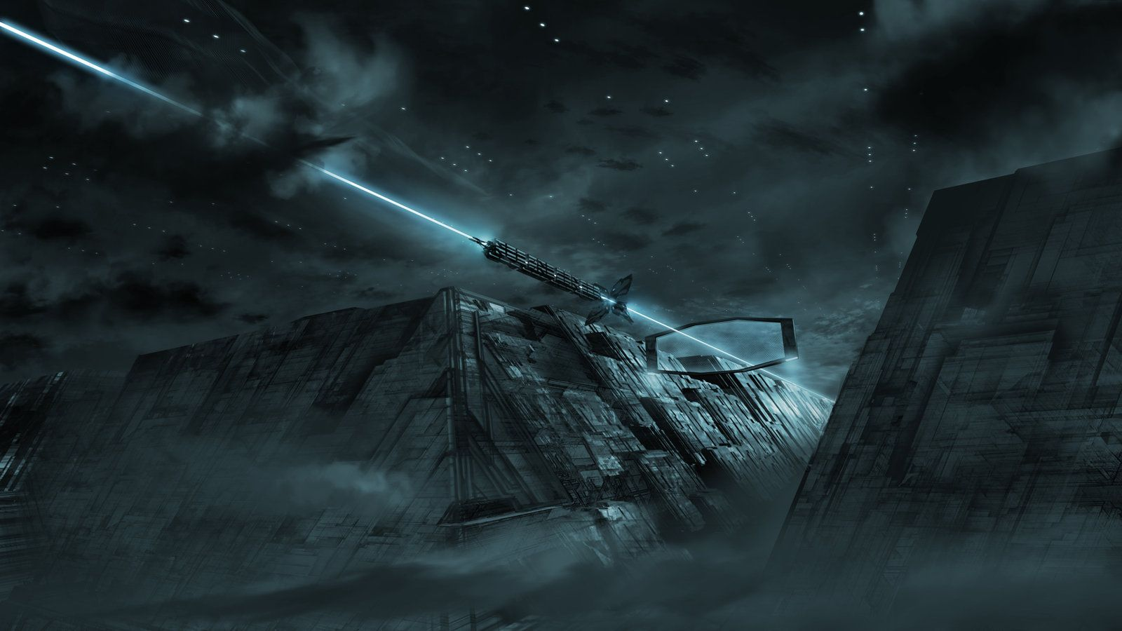 Tron Legacy Solar Sailer by vyleart David Levy ecWelcome to