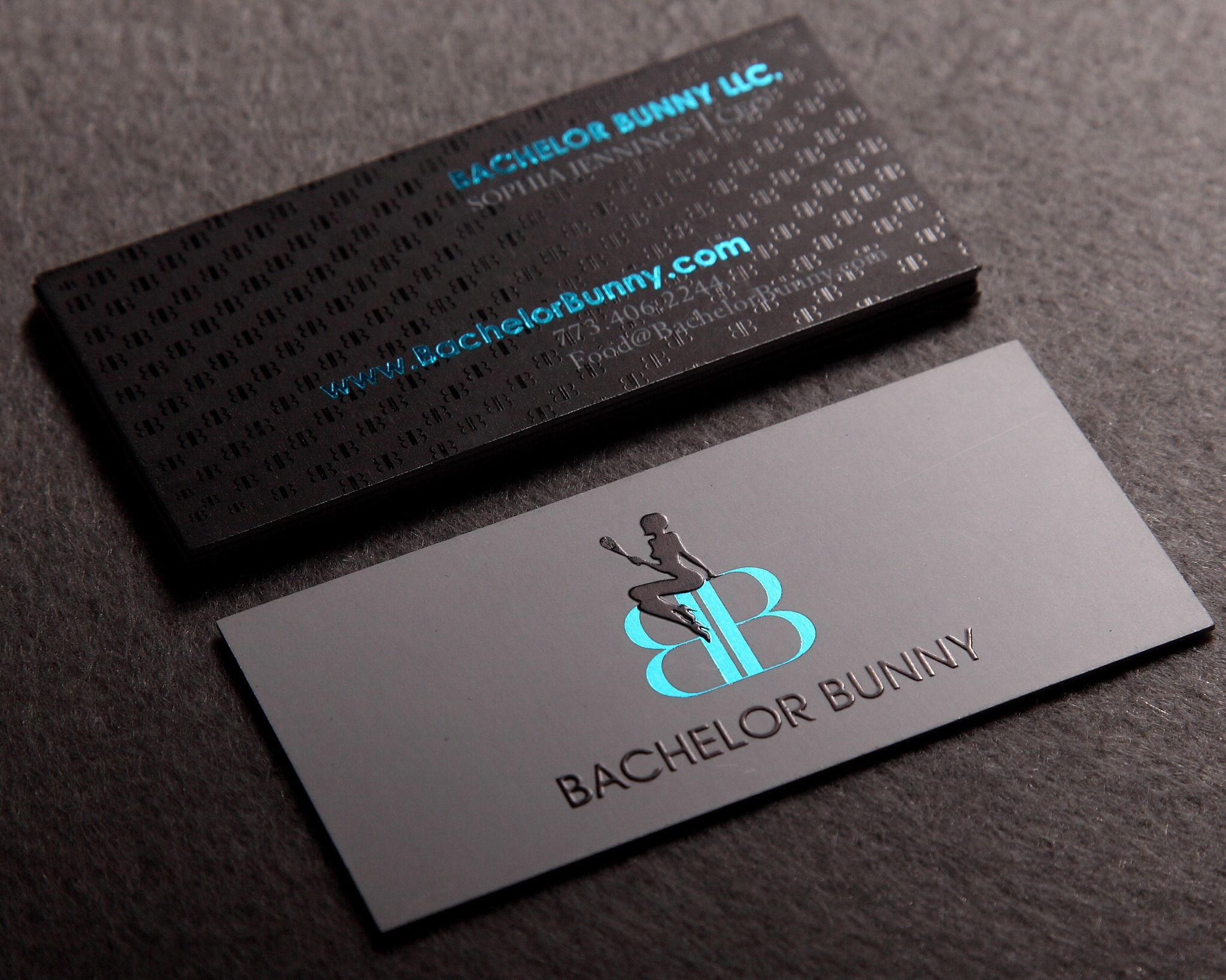 20 best unique business cards images on pinterest unique business custom sized silkcards black business card w spot uv and blue foil colourmoves