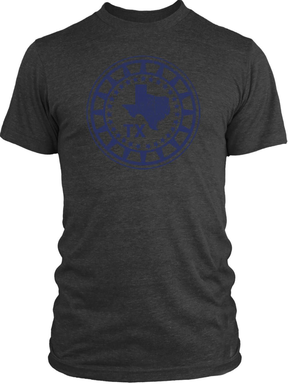 Big Texas Texas Emblem Vintage Tri-Blend T-Shirt