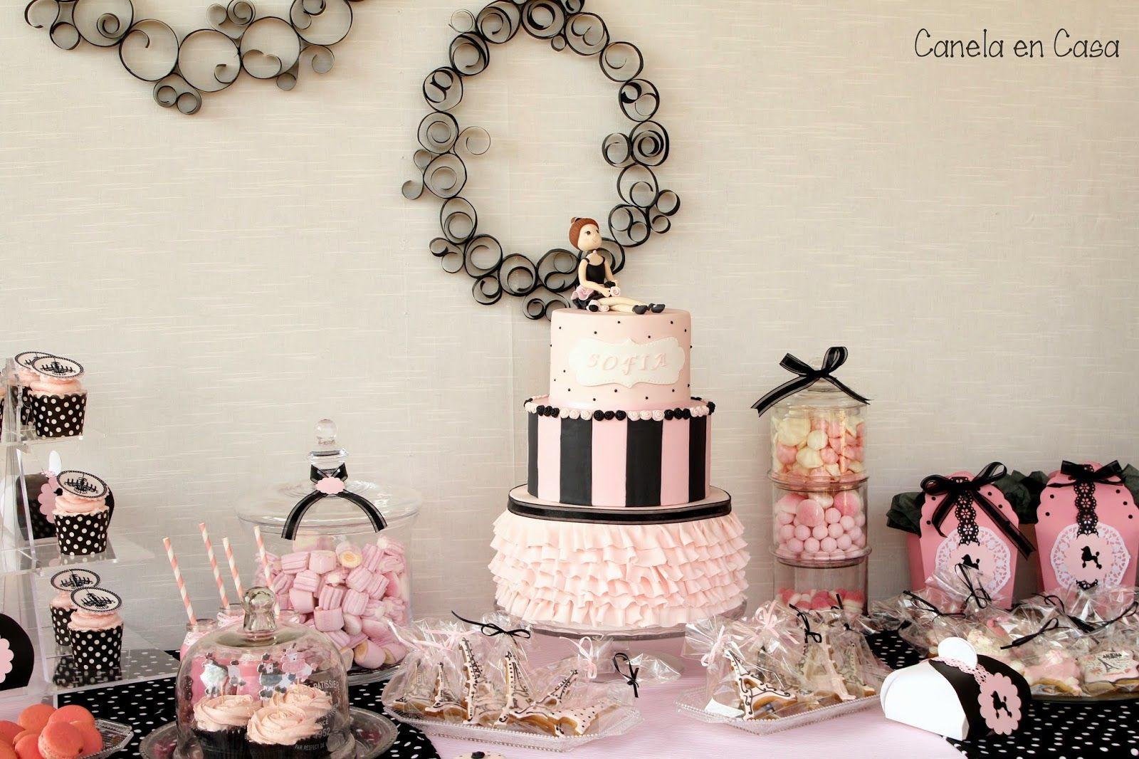 Decoracion de mesas dulces elegantes buscar con google for Decoracion quince anos paris