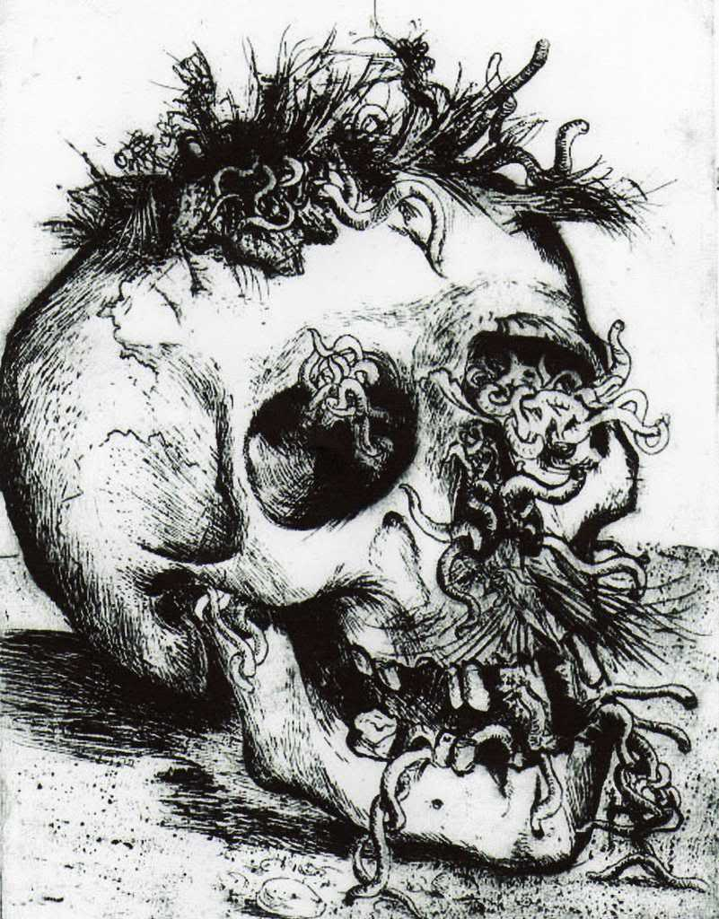 Otto Dix, Schädel (Crâne), 1924 | Artsy fartsy | Pinterest