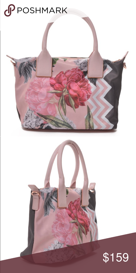 fd8ccb317 TED BAKER LONDON | Palace Gardens Nylon Tote With its gorgeous floral print  and rose-