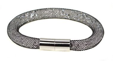 FIORELLI CRYSTAL MESH BRACELET WITH MAGNETIC CLASP (801602)