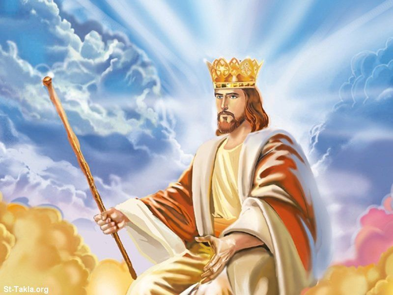 Image result for jesus crowned king