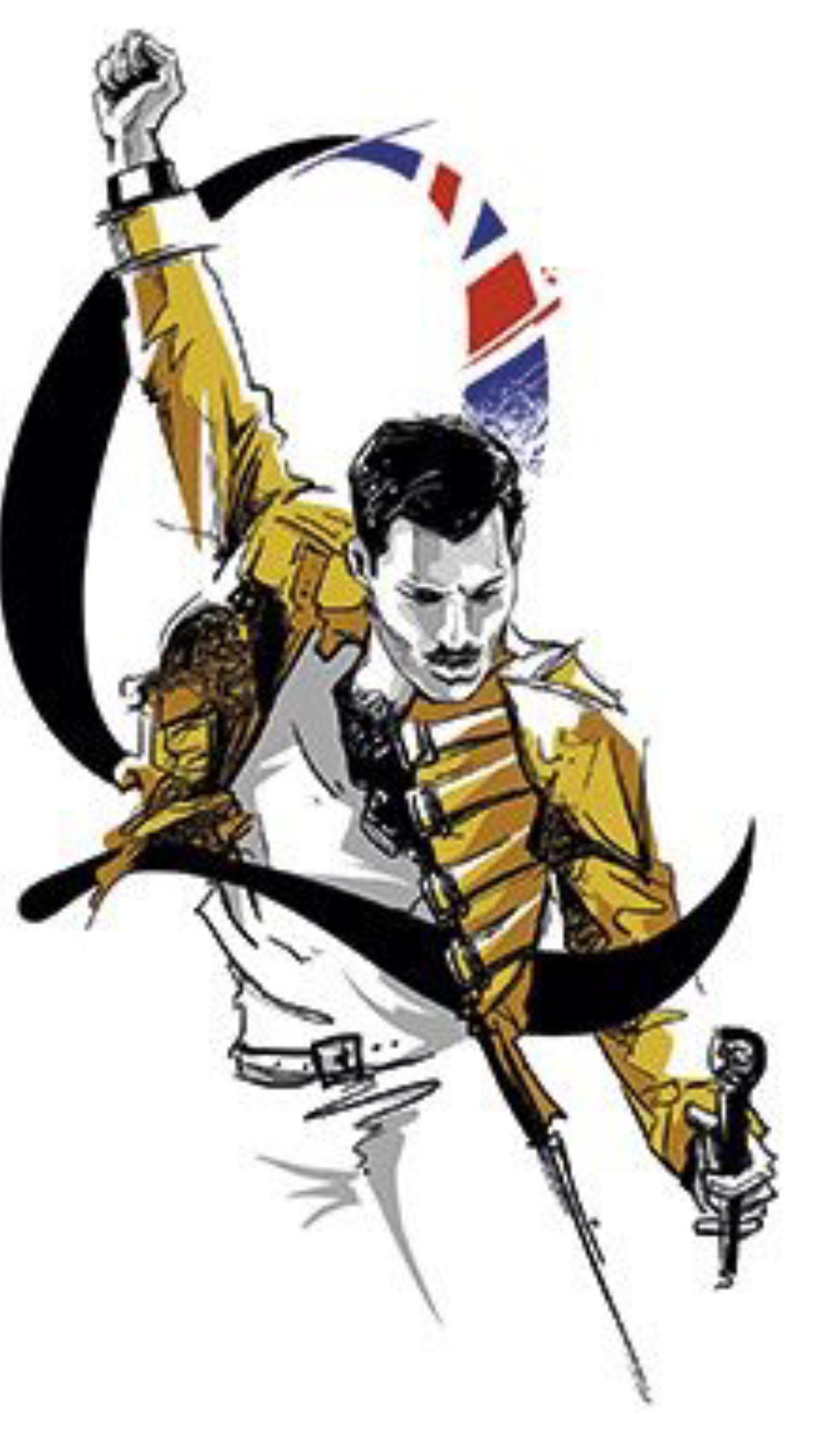 I 3 This It S So Powerful And Inspirational I Would Love To Have This Picture On My Wall Queen Art Queen Tattoo Freddie Mercury Tattoo