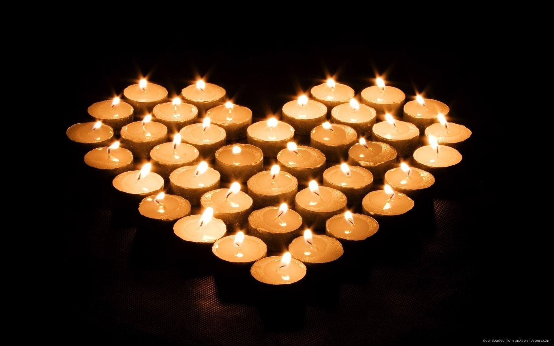 Candle Light Wallpaper  820062