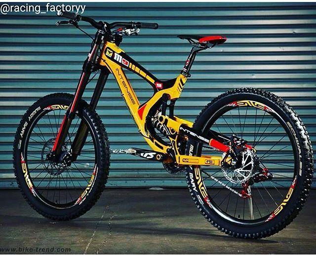 New custom Intense M9 frame stickers decals mtb bike