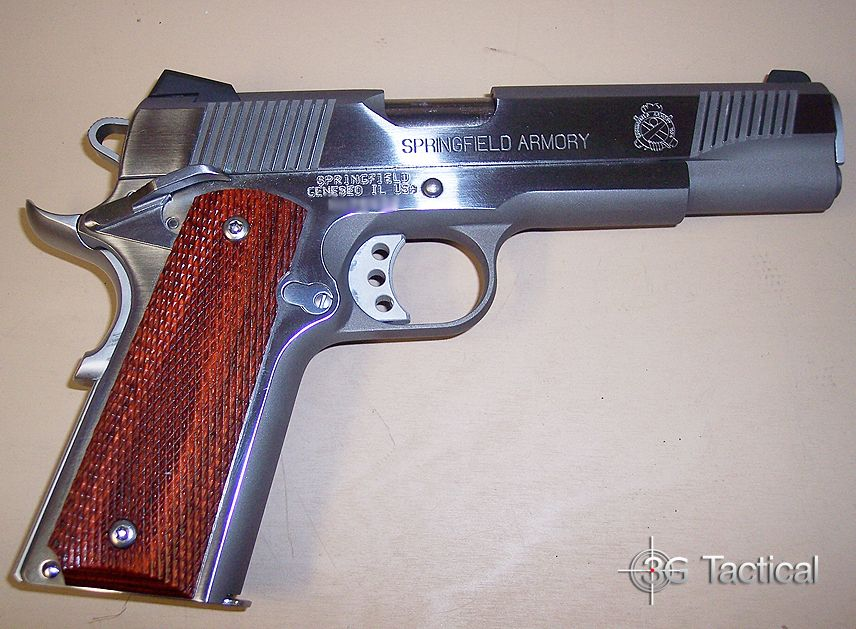 Springfield Armory Model 1911-A1 Loaded chambered in 45 ACP