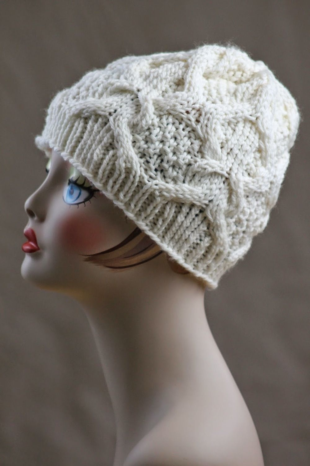 how to finish knitting a hat without double pointed needles