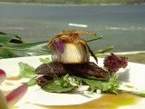 Cooking Channel serves up this Japanese Yellowtail with Ginger Roasted Shiitake Mushrooms and Root Beer Hoisin Vinaigrette recipe plus many other recipes at CookingChannelTV.com