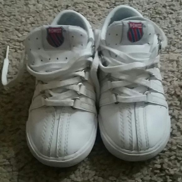 Toddler kswiss size 8 White. Good used condition K swiss Shoes Sneakers
