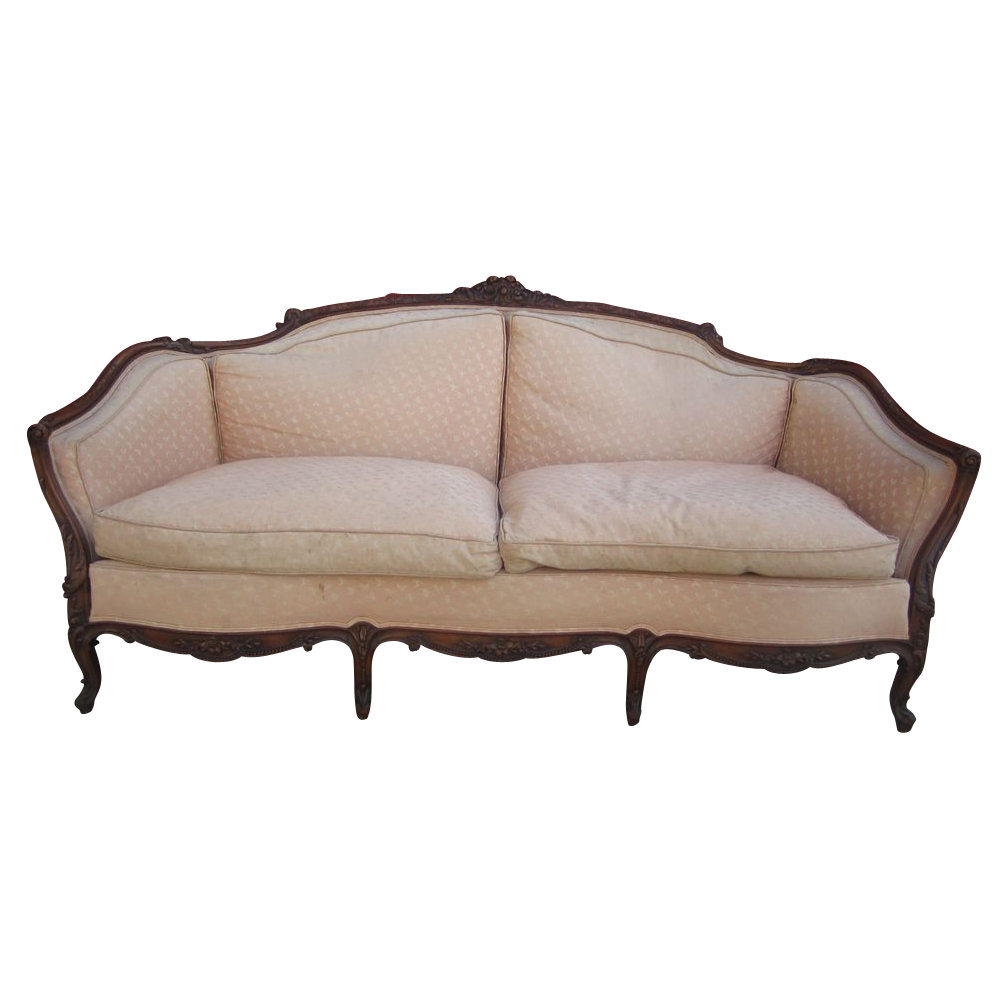 Antique Furniture Sofa furniture and similar decor on - 1900-1910 American Antique Sofa You Can't Take It With You Set