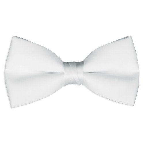 Platinum Hanger Mens Classic Pre-Tied Formal Bow Tie Tuxedo Bowtie Adjustable