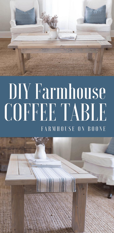 Diy Farmhouse Coffee Table Plans In 2020 Diy Farmhouse Coffee Table Coffee Table Farmhouse Coffee Table Plans