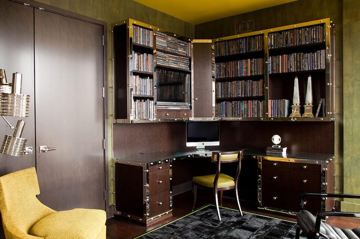 Amanda Nisbet Design   Dens/libraries/offices   Mid Century Modern Office,