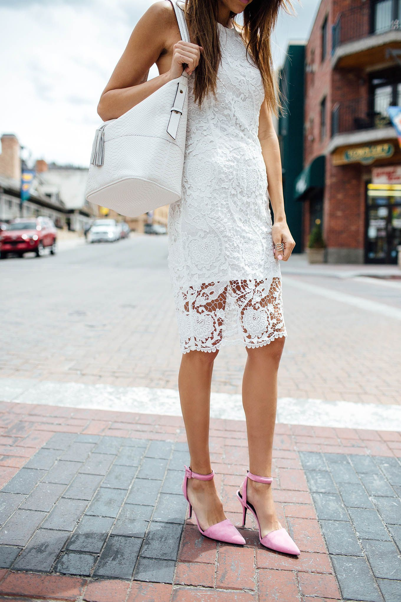 b6c49c6f6 Memorial Day sale roundup with this all white lace dress