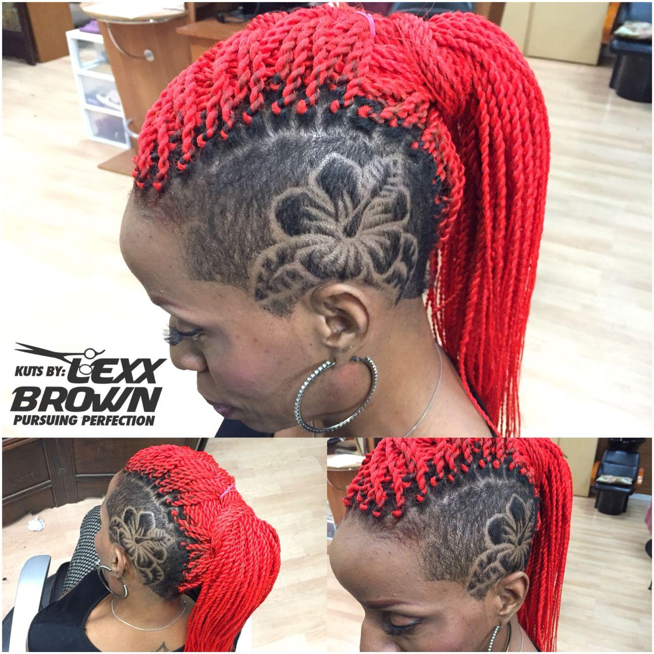 Flower Undercut Hair Styles Shaved Hair Designs Hair Designs